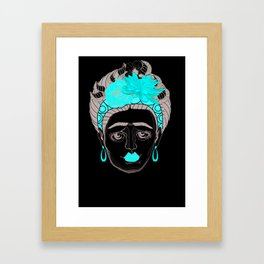 Sô Frida Framed Art Print