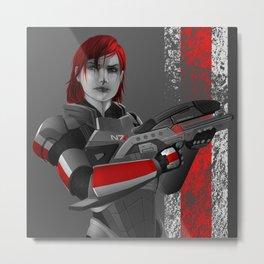 Mass Effect - M8 Metal Print