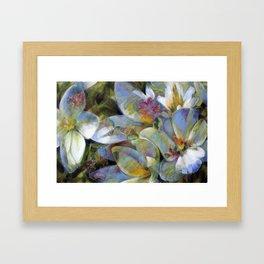 Fées sylvestres Framed Art Print