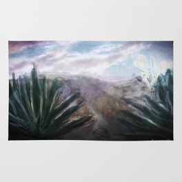 Desert Hills of Life and Death Rug