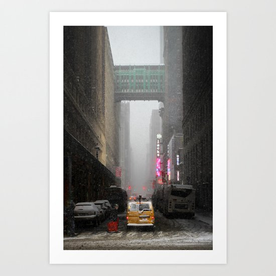 Snow Empire - NYC Art Print