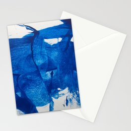 The blue goddess Stationery Cards