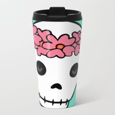 Princess Skull ver.2 Metal Travel Mug