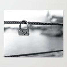 Love Locks 2012 09 Canvas Print