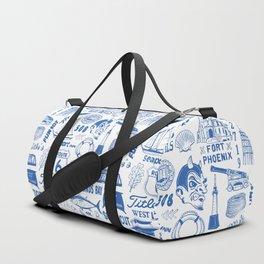 Fairhaven Massachusetts Print Duffle Bag