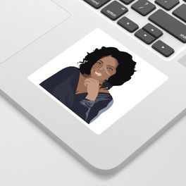 Oprah Sticker