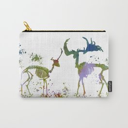 Deer Skeletons Carry-All Pouch