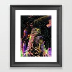 safe via glass wall (1) Framed Art Print