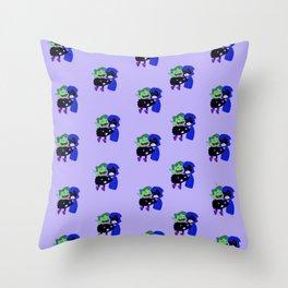 teen titans - theme Throw Pillow