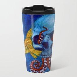 Hermit Octopus Metal Travel Mug