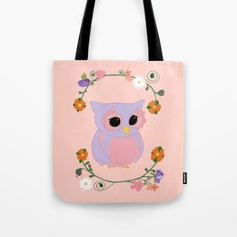 Owl Watch Over You Tote Bag