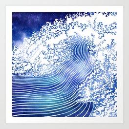 Pacific Waves II Art Print
