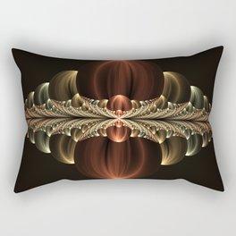 Fantastic Skyline, abstract Fractal Art Rectangular Pillow
