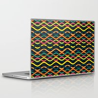 dna Laptop & iPad Skins featuring DNA by Shkvarok