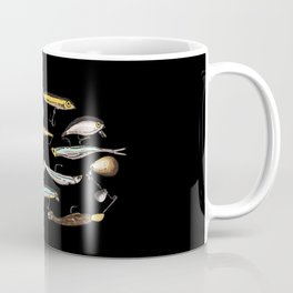 Lures And Baits | Fishing Angler Coffee Mug