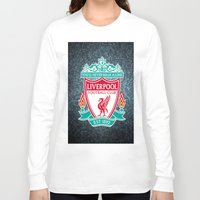 liverpool Long Sleeve T-shirts featuring LIVERPOOL by Acus