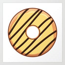 Joyful Cheezy Doughnut / Donut Art Print