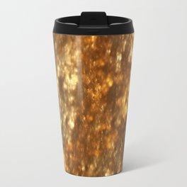 Fractal Art - Gold mine Travel Mug