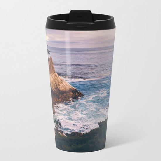 Carmel California Metal Travel Mug
