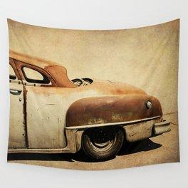 Rusty Chrysler De Soto Wall Tapestry