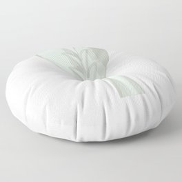 White Dragon Tail Floor Pillow