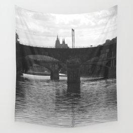 Bridges on Vltava Wall Tapestry