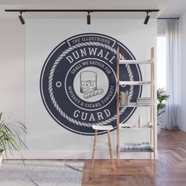 Whiskey & Cigars (Navy) Wall Mural