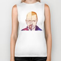 breaking bad Biker Tanks featuring Breaking Bad by Connick Illustrations
