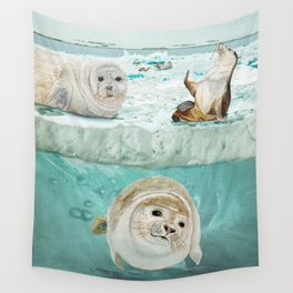 Arctic Expedition Wall Tapestry