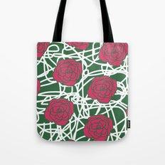 ROSE SQUIGGLE Tote Bag