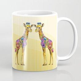 Giraffe Friends Coffee Mug