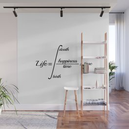 life and death quote Wall Mural