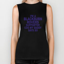 Blackburn Rovers Funny Biker Tank