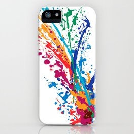 Color Dancers iPhone Case