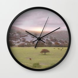 Spring Mood II Wall Clock