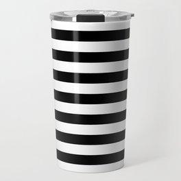 Classic Stripe Pattern Travel Mug