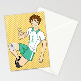 floppy hair Stationery Cards