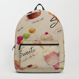 Sweets & Desserts Backpack
