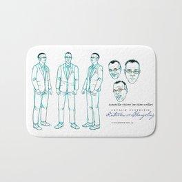 Dean Winters Character Design I Bath Mat