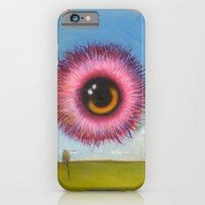 Fuzzy Pink Eyeball iPhone 6s Slim Case