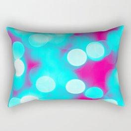 Bokehs III Rectangular Pillow