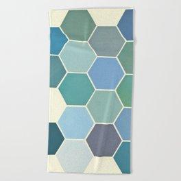 Shades of Blue Beach Towel