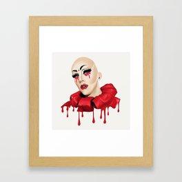 Sasha Velour Framed Art Print
