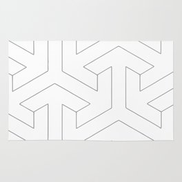 Geometric Patterns Architecture Architects Architectural  Rug