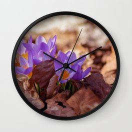 Concept nature : Fera lilium Wall Clock