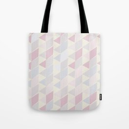 Shapes in Soft Colors Tote Bag