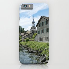 Yvoire iPhone Case
