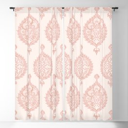 Edana Medallion in Pink Blackout Curtain