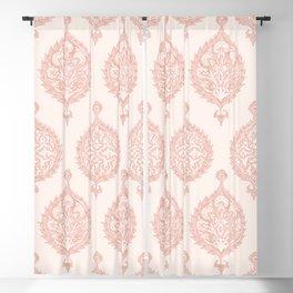 Edana Medallion in Pink Blackout Curtain