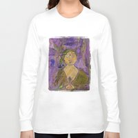 queer Long Sleeve T-shirts featuring Queer Buddha ~ Invocation  by Jamila